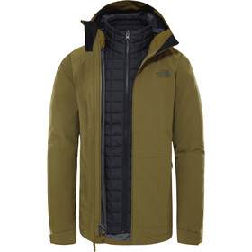 The North Face Thermoball Eco Triclimate Jacke Herren fir green/TNF black